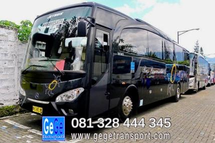 Bus Pariwisata gege jetbus prayogo bimo ratna queen ardian tamijaya trans 99 transport yogyakarta bali Jakarta bandung surabaya sewa new murah bandung otobus daftar malang juanda biro perjalanan wisata terbesar Ramayana travel tour organizer  jasa
