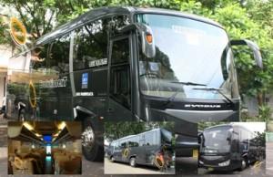 evobus Bus Pariwisata gege Yogyakarta jet bus airport surabaya bali denpasar terbaru 2012