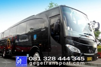 Legacy Sky Bus Pariwisata Yogyakarta jet bus evobus airport surabaya bali denpasar terbaru 2012 terbaik gege transport jogja wisata interior