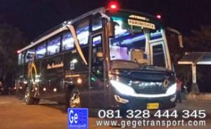 Bus pariwisata yogya jogja terbaik termewah terbaru harga paket wisata murah jetbus2 po gege  transport terbesar 2012-2015 biro perjalanan sekar langit tour