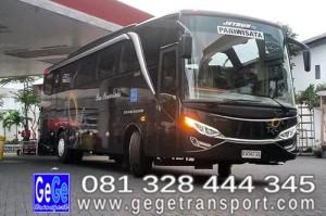 Bus wisata terbaru teryaman terbaik terbesar indonesia gege transport jetbus2 selendang setra jogja Yogyakarta 2014 2015 Bis interior armada gambar adiputro karoseri trans perusahaan