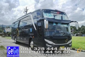 Gege transportasi jogja bus pariwisata setra jetbus2 bus hitam terbaru 2017 terbaik gg jakarta bandung bali surabaya malang nyaman jetbus interior wisata gegetrans busgege hdd shd