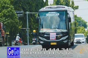 Gege transportasi yogya setra bus hitam terbaru 2017 terbaik sewa jakarta bandung bali surabaya nyaman city tour jetbus interior kunjungan wisata gegetrans busgege