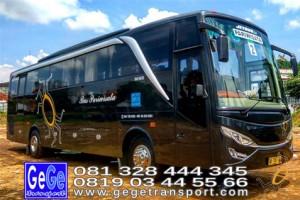 Gege transportasi yogyakarta bus pariwisata hdd2017 terbaik sewa jakarta bandung bali lombok surabaya malang nyaman kota wisata jetbus interior wisata gegetrans busgege shd