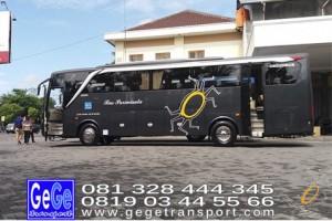 Gege transportasi yogyakarta setra adiputro jogja 2017 terbaik sewa jakarta bandung bali lombok surabaya malang nyaman city tour jetbus interior gg gegetrans busgege