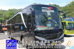 Gege transportasi yogyakarta setra bus pariwisata 2017 terbaik jakarta bandung bali lombok surabaya malang solo nyaman city tour jetbus interior gegetrans busgege imogiri bantul