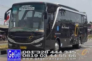 Gege transportasi yogyakarta setra jetbus 2 hd bus hitam terbaru 2016 2017 terbaik sewa