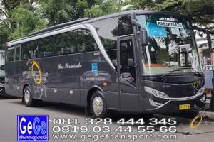 Gege transportasi yogyakarta setra jetbus 2 hd bus hitam terbaru 2016 2017 terbaik dijual jakarta bandung bali lombok
