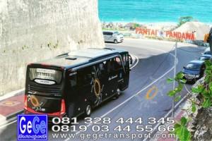 Gege transportasi yogyakarta setra jetbus 2 hd bus hitam terbaru 2016 2017 terbaik sewa jakarta bandung bali lombok surabaya malang klawangsewu pantai pandawa