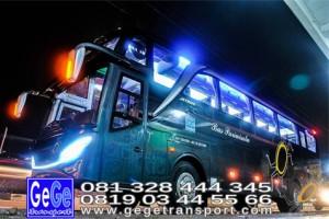 Gege transportasi yogyakarta setra jetbus 2 hd bus hitam terbaru 2016 2017 terbaik dijual jakarta bandung bali lombok surabaya malang lawangsewu