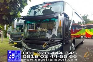 Gege transportasi yogyakarta setra jetbus 2 hdd bus hitam terbaru 2016 2017 terbaik dijual jakarta bandung bali lombok surabaya