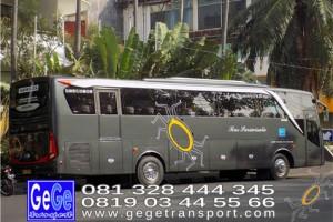 Gege transportasi yogyakarta setra jetbus2 hd bus hitam terbaru 2016 2017 terbaik nyaman city tour jetbus interior kunjungan wisaata gegetrans