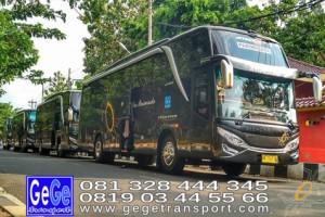 Gege transportasi yogyakarta setra jetbus2 hdd bus hitam terbaru 2016 2017 murah jakarta bandung semarang bali lombok surabaya semarang