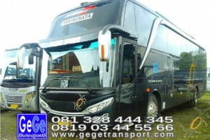Gege transportasi yogyakarta setra jetbus2 hdd bus hitam terbaru 2016 2017 terbaik dijual jakarta bandung semarang bali lombok surabaya semarang
