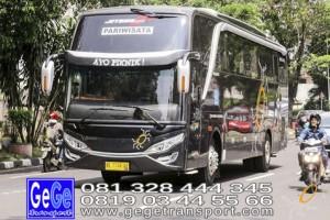 Gege transportasi yogyakarta setra jetbus2 hdd bus hitam terbaru 2016 2017 terbaik dijual jakarta bandung semarang bali lombok surabaya semarang bedugul