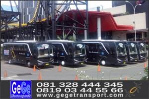 Trans studio bus pariwisata jogja gege transport nyaman murah