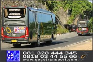 bus wisata jogja 2017 terbaik terbaru nyaman aman menyenangkan gege transport traswisata