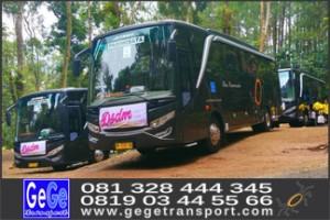 harga sewa bus pariwisata jogja terbaru 2017 gege transport wisata ggggtrans yogyakarta semarang surabaya