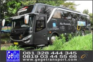 Bus pariwisata yogyakarta hdd shd terbaru 2017 gege transport jogja