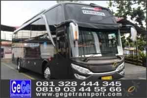 bus wisata hdd shd yogya gege transport jogja 2017