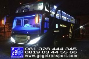 gege transport hdd tahun 2017 bus pariwisata terbaik di yogyakarta nyaman terbaru setra adiputro murah ter besar shd malam