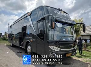 Bus pariwisata jogja gege transportasi jb3 armada nyaman 2018 sewa kota wisata 2019
