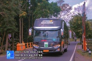 Bus pariwisata jogjakarta gege transportasi jb3 armada nyaman 2018 sewa kota wisata paket wisata gg 2019