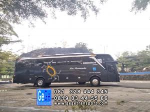 Bus pariwisata jogjakarta gege transportasi jb3 armada nyaman 2018 sewa kota wisata 2019
